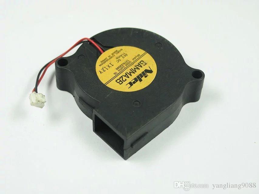 Freies Verschiffen für Nidec D05F-24PH, 15 DC 24V 0.11A 2-Draht 2-pin Stecker 50mm Server Lüfter