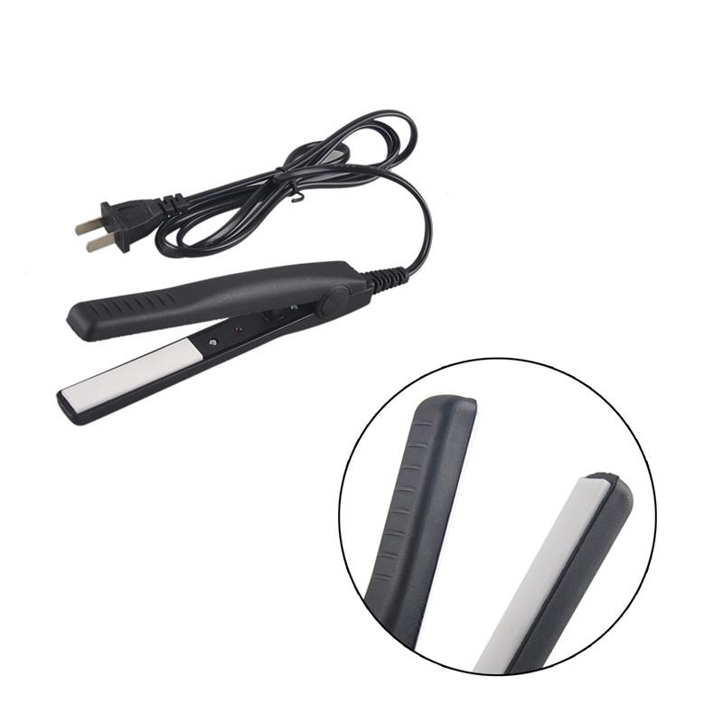 Mini Hair Straightener Small Cute Efficient Electric Hair Straightener Ceramic Hair Straightener Electric Splint Ion Perm Portable 0604045