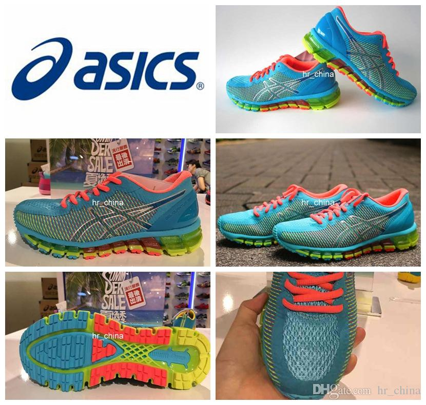 new product c6fdb efa8c 2017 New Brand Asics Gel QUANTUM 360 Running Shoes For Women, Breathable  Avoid Shock High Support Lightweight Sneakers Eur Size 36 39 Kids Running  Shoes ...