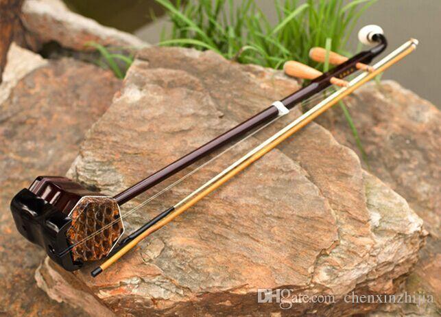 Nuovi strumenti musicali di legno meravigliosi all'ingrosso che girano cinese .ErHu
