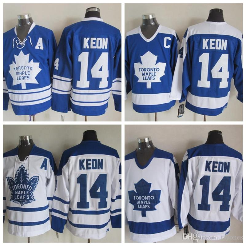 bb329c362 ... 2017 Throwback Toronto Maple Leafs Dave Keon Hockey Jersey Vintage 1967  Ccm Classic Stitched Cheap 14 ...