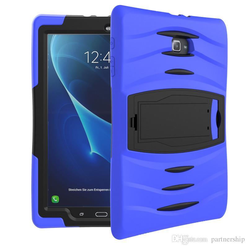 Case For Samsung Galaxy Tab A T580 T350 T280 E T560 Tab 4 T330 T230 P3200 Tab 3 Lite T110 Case Cover Tablet Shockproof Heavy Duty With Stand