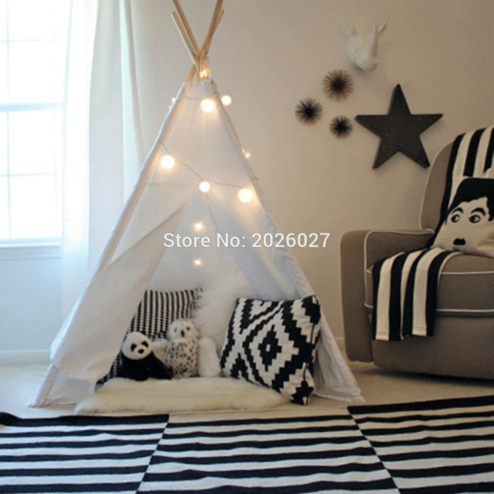 Design Kids Teepee wholesale love tree four poles children teepees kids play tent see larger image