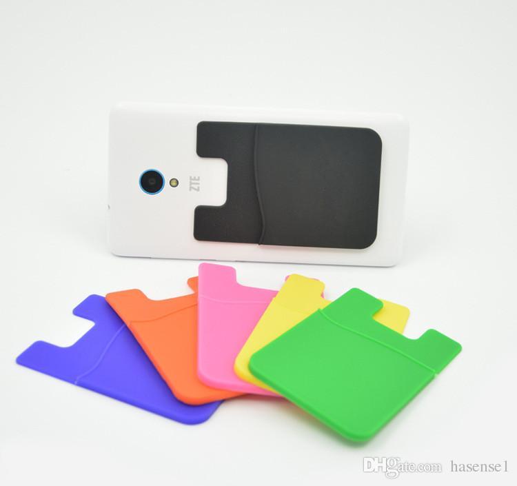 innovative design 21bd8 e641b Credit Card Holder Back for Phone Wallet Sticks Card Pocket Universal 3M  Sticky Card Holder Stick-On Phone Case