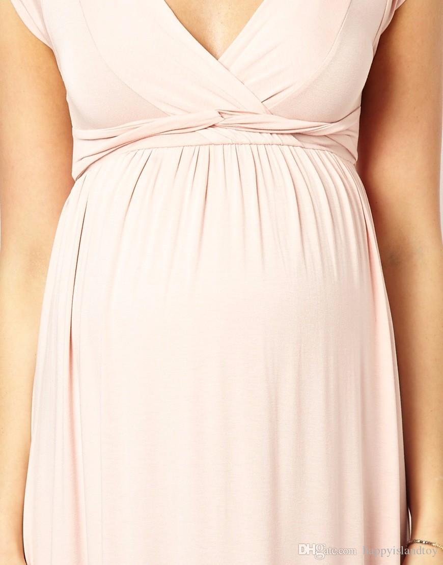 HI BLOOM Pregnancy Clothes for Pregnant Women Noble Evening Prom Dress Elegant Women Party Vestidos Maternity Dresses Gowns