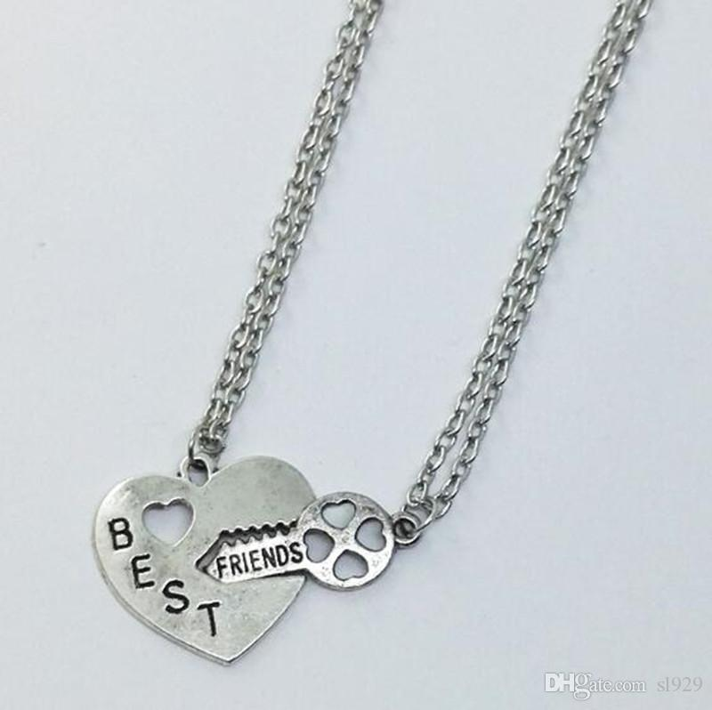 dior silver large necklace heart lock pendant us metal luxury necklaces lxrandco en pre tone vintage owned