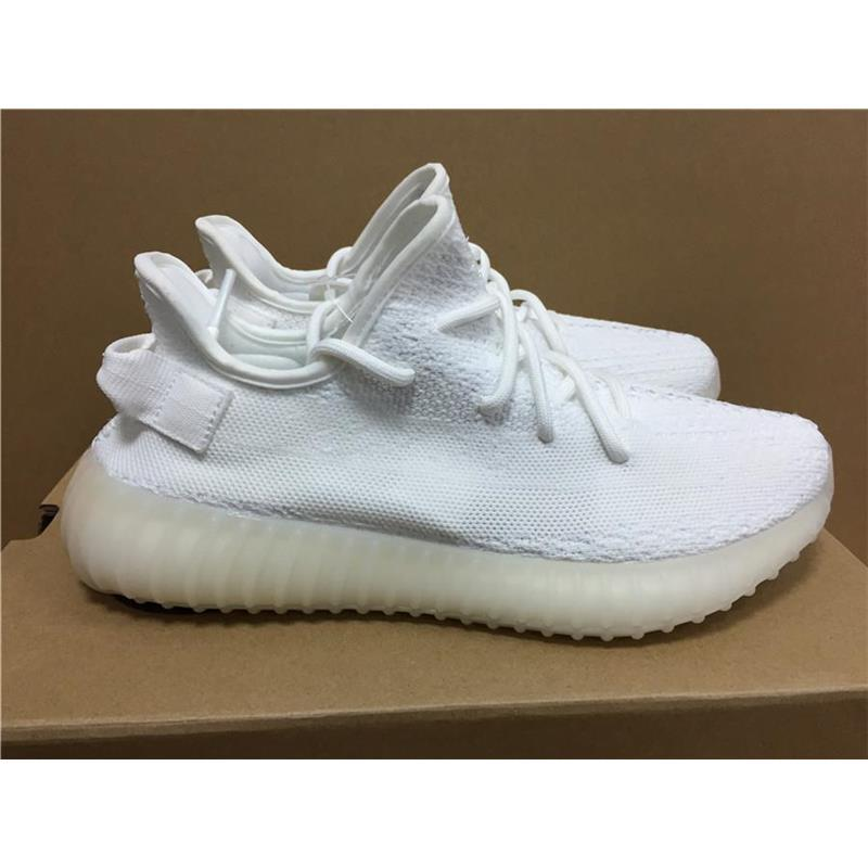 Cream White Boost 350 V2 New SPLY-350 Sports shoes All White Triple White 350 V2 Running Shoes Kanye West Sneakers Men Women outlet in China outlet recommend outlet under $60 QjVQM2ml