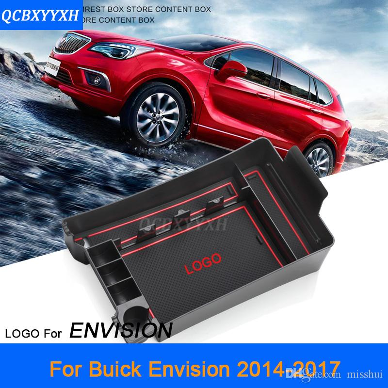 Для Buick Envision 2014-2017 ЛВРЛ автомобилей Центр консоли подлокотник ящик для хранения охватывает украшения интерьера авто аксессуары