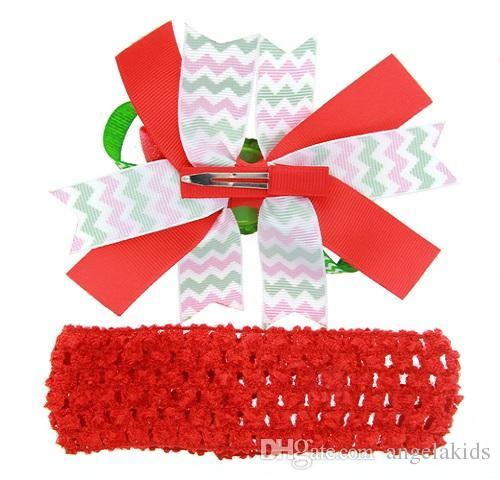 Accesorios para el cabello para niñas Diseño navideño Flores para el cabello Niños Sombreros Niños Horquilla Pinzas para el cabello para niñas Accesorios para el cabello para bebés
