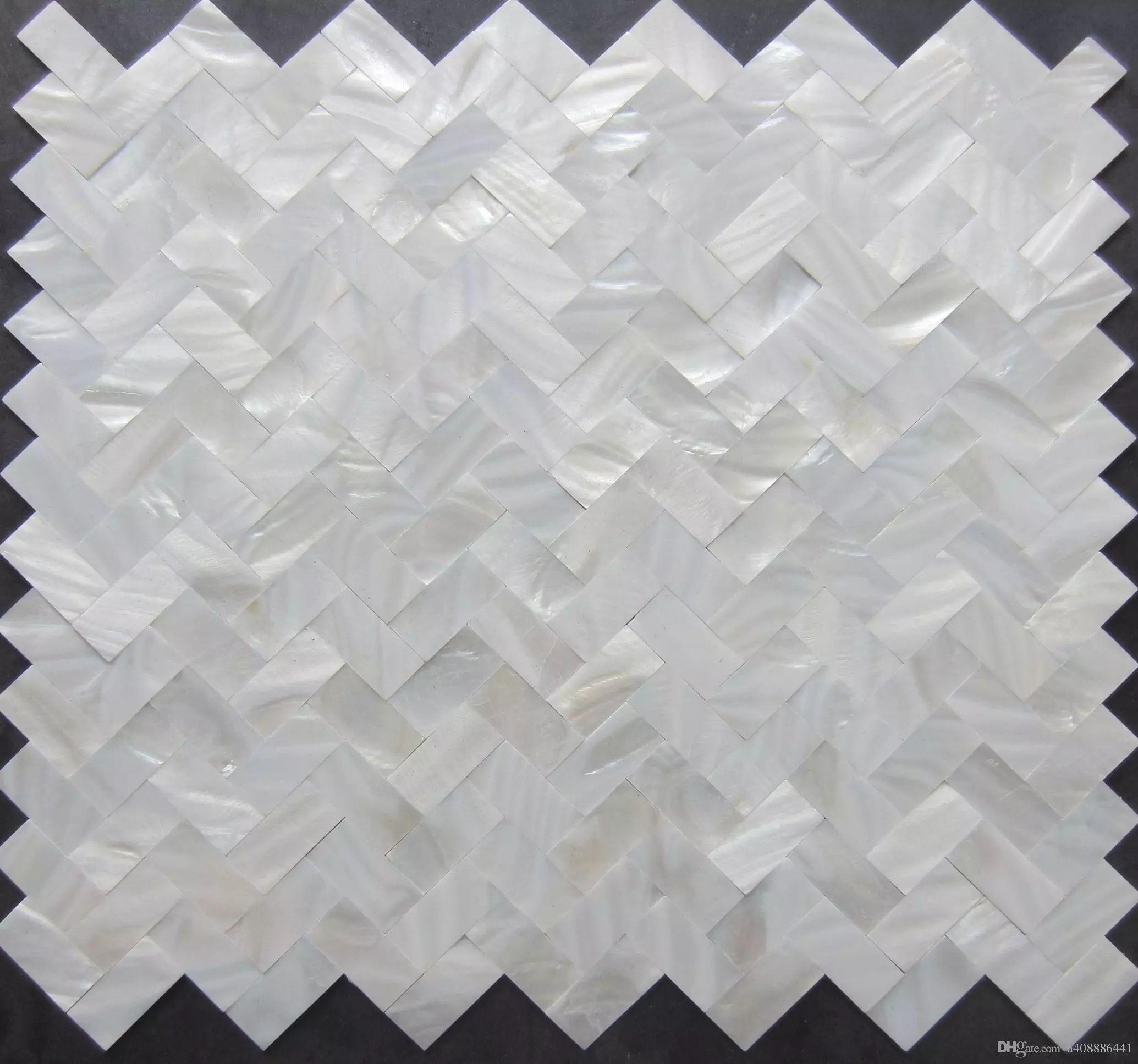 2017 2017 new style!!! herringbone mosaics tiles; white mother of