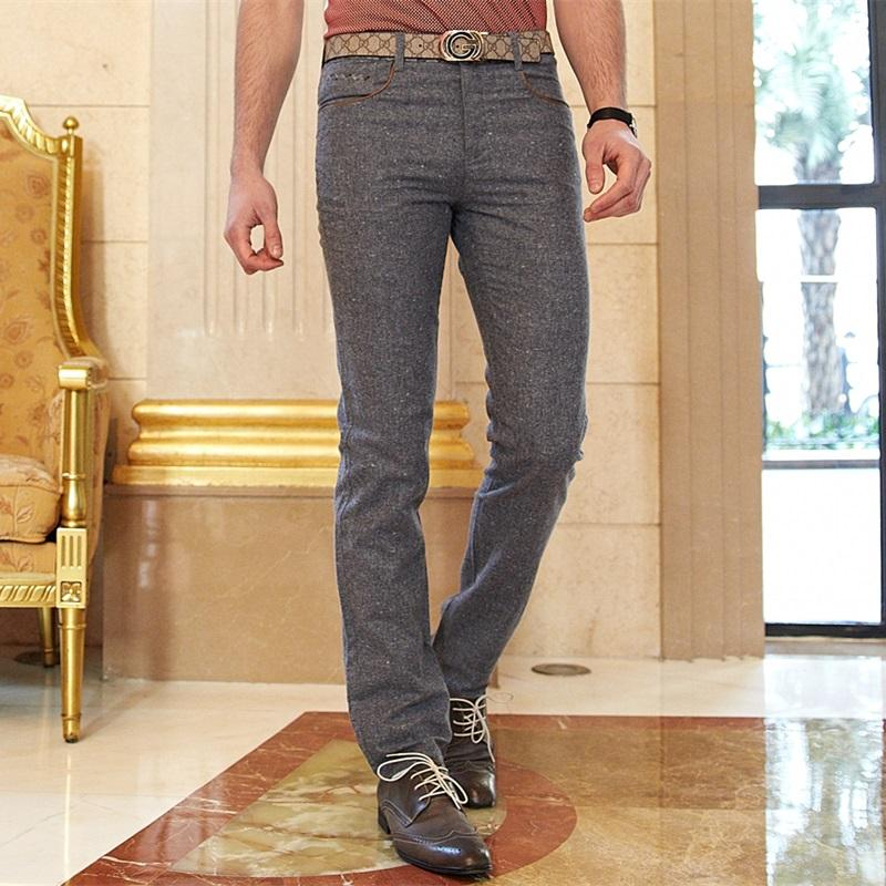 Wholesale Brand Mens Khaki Chino Pants Men Casual Dress Pants Formal Male Slim Suit Trousers Spring Summer Clothing Plus Size 29 40