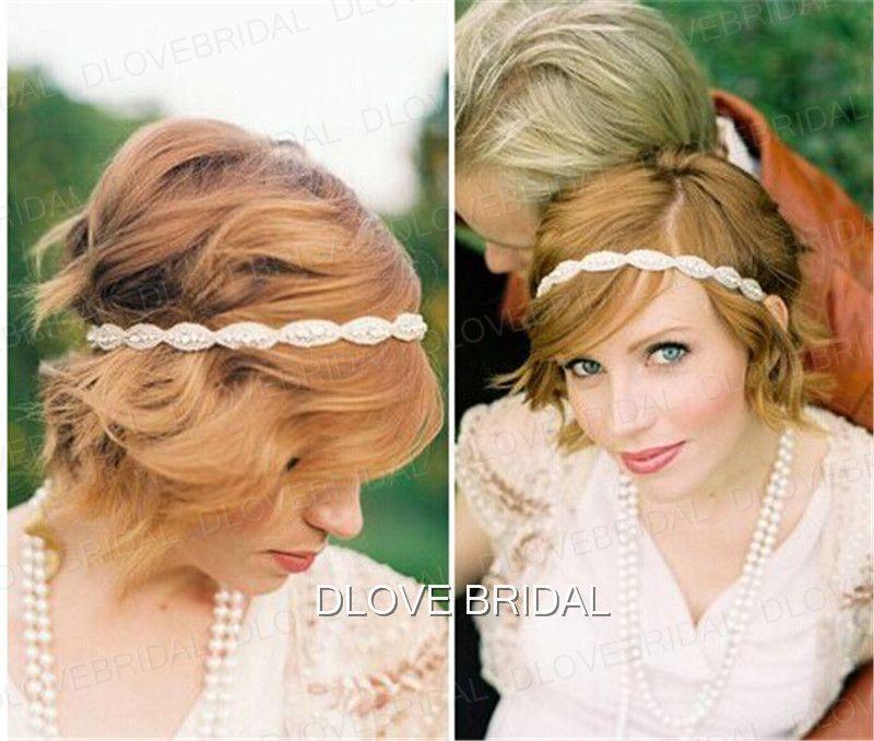 Старинные свадебные ленты для волос Кристалл горный хрусталь фотография головные уборы украшения головы аксессуары для волос с белой лентой галстук спины