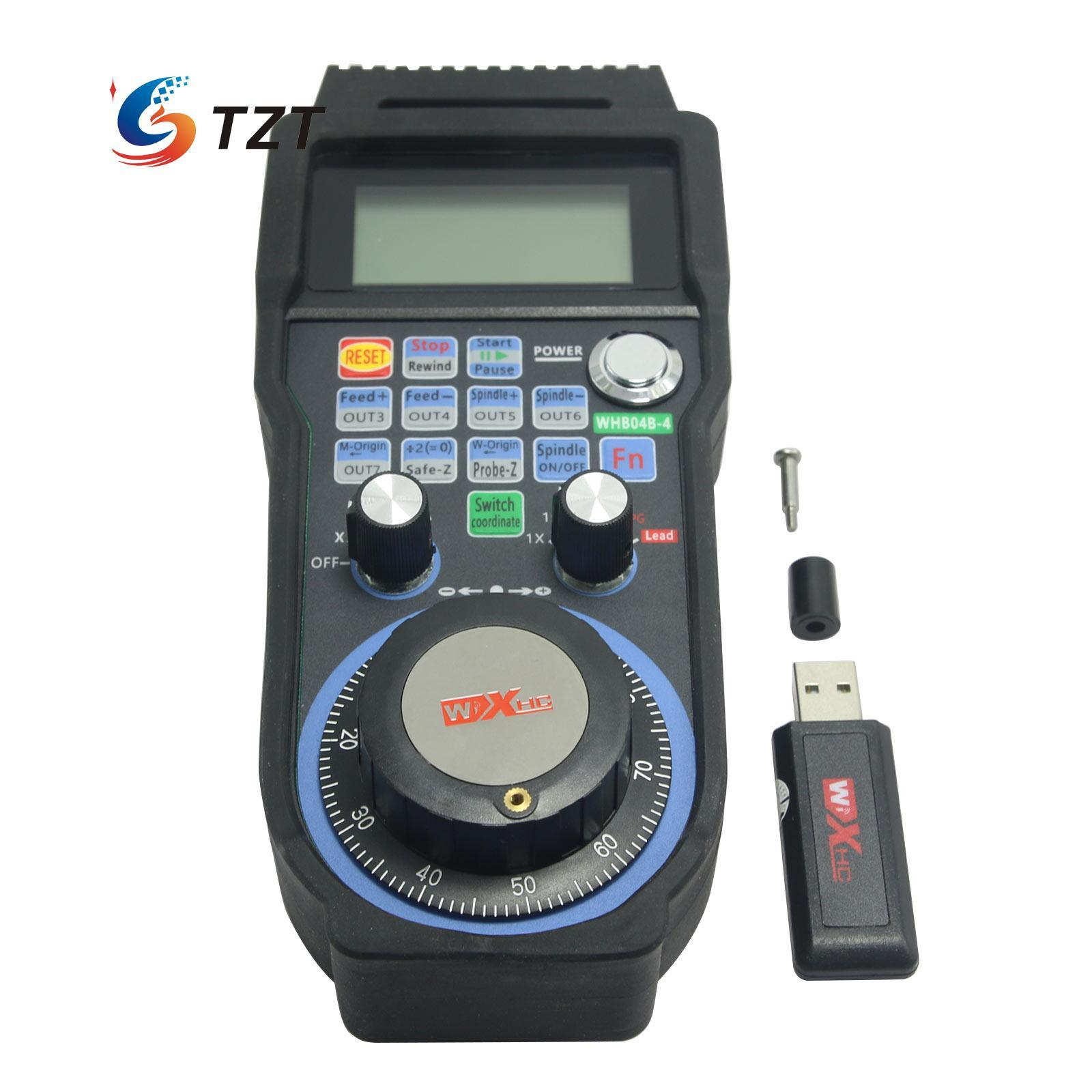 Wholesale CNC MACH3 4 Axis Wireless Electronic Handwheel 100PPR Manual  Controller USB Handle MPG WHB04B Controller Remote On Tv Remote From  Cowpea, ...
