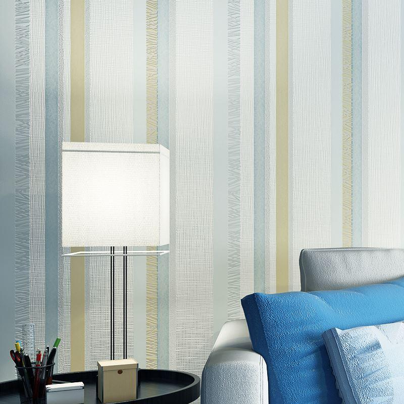 Non woven vertical striped wallpaper decor living room embossed textured glitter wallpaper for bedroom walls papel de parede 3d freewallpaper freewallpapers