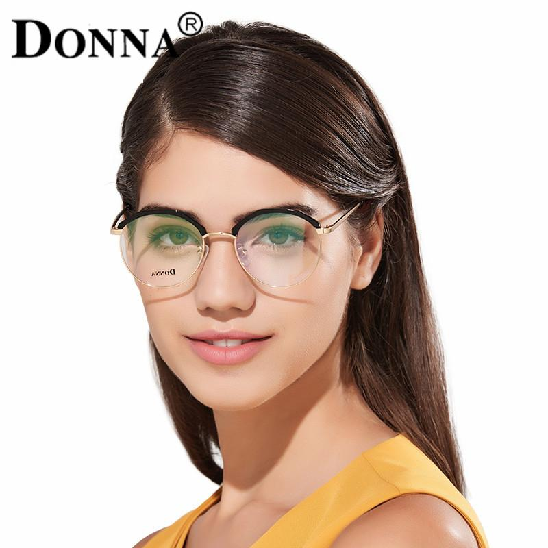8842c663e5 2019 Wholesale Donna Fashion Reading Eyeglasses With Clear Lens Optical  Round Glasses Frames Glasses Women New TR90 Frame Reading Eyeglass DN From  Gwyseller ...