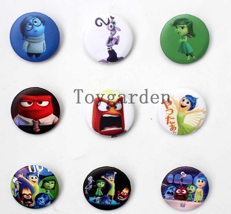 Vende lo último en uno Princesa Badge Button Pins Niños Fiesta Regalos Diámetro 25mm envío gratis