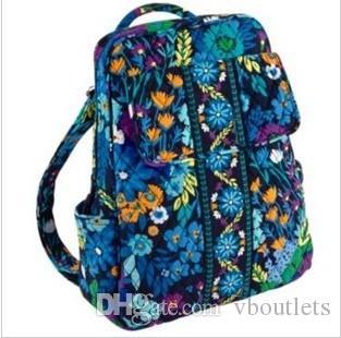 Küçük sırt çantası kampüs sırt çantası Pamuk Çiçek Okul Çantası Kampüsü Dizüstü Sırt Çantası Okul Çantası Seyahat Kolej