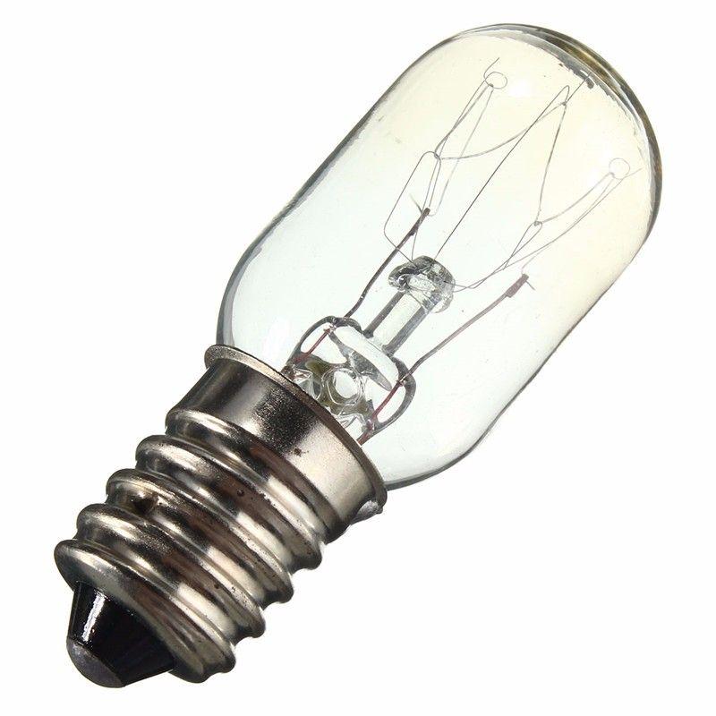 Edison Lâmpada E14 SES 15 W / 25 W Frigorífico Luz Lâmpada Lâmpada de Tungstênio Filamento Quente Branco Iluminação AC220-230V