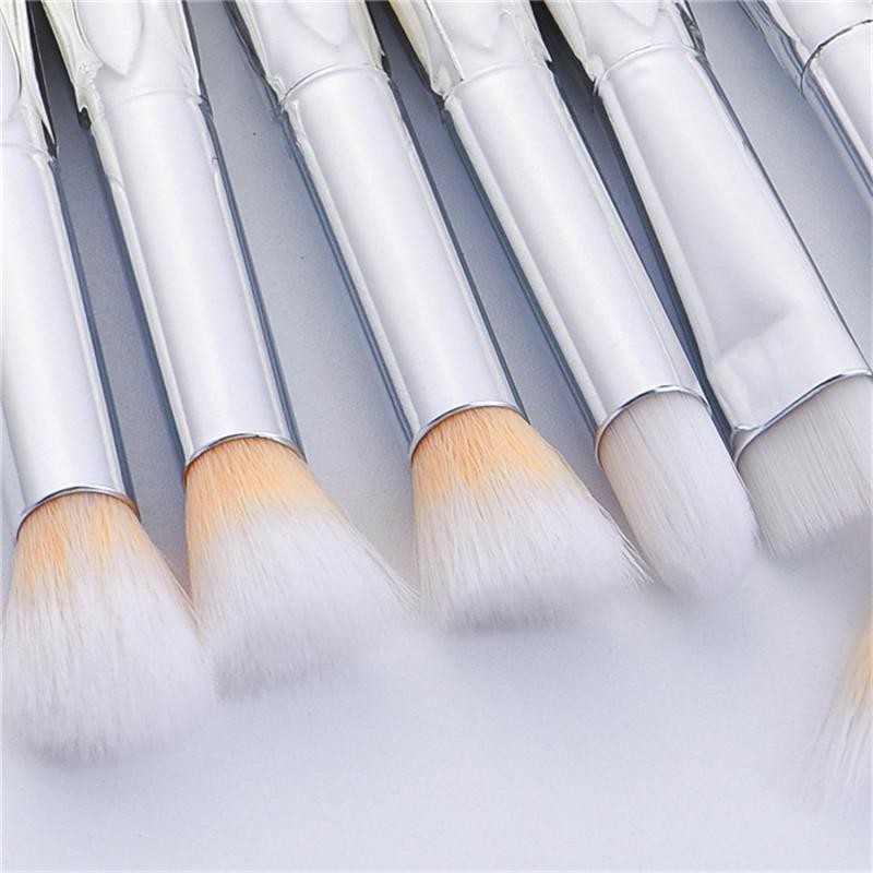 Sereia Maquiagem Brushes Set Makup Profissional Sombra de Olho Sombra Blusher Pó Mistura Cosméticos Memaid Sacre Kit Escova DHL Livre