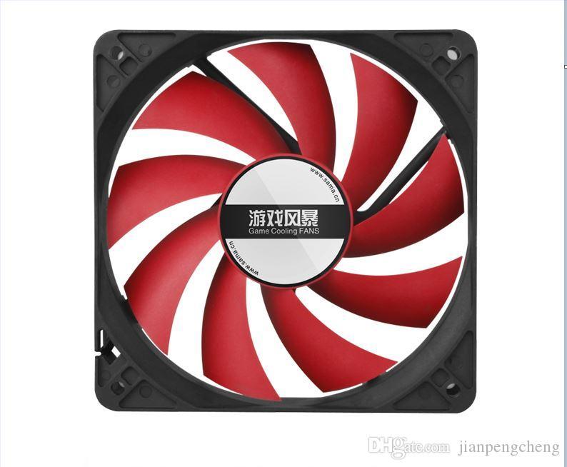 12cm Computergehäuselüfter quieten Spiel PC-Gehäuse Lüfter