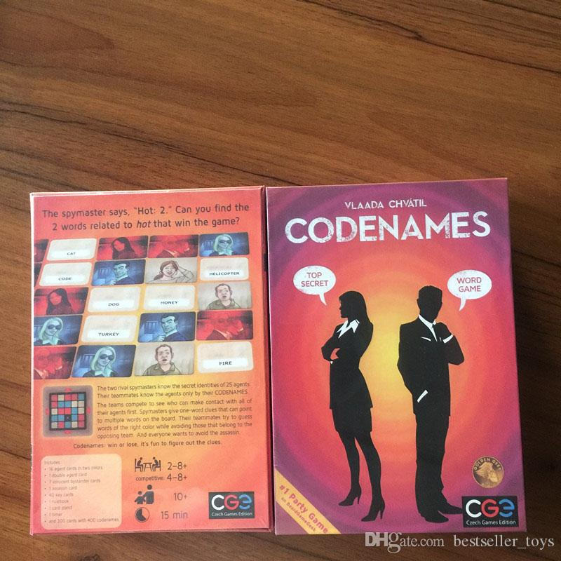 newest codenames party game funny games for adults social word game