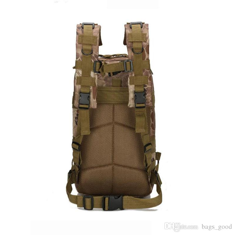 Outdoor Military Army Tactical Backpack Trekking Sport Travel Rucksacks Camping Hiking Trekking Camouflage Bag Sports mountaineering bag