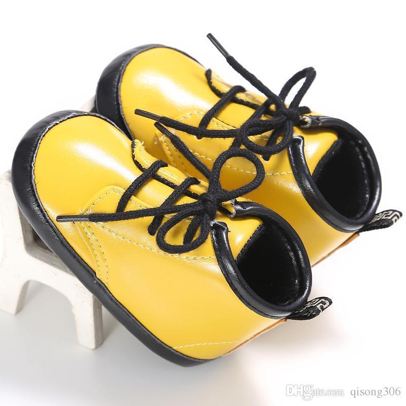 2017 HOT antiscivolo neonato 0-1 anni ragazzo gel ragazza scarpe bambini fondo morbido il tempo libero scarpe bambini bambino primo camminatore infantile scarpe bambini