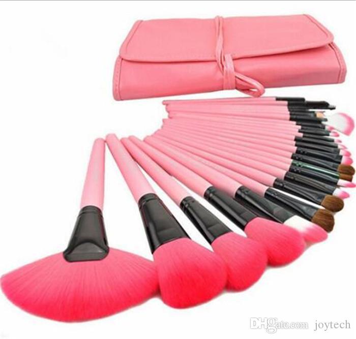 Профессиональный макияж кисти 24 шт. 3 цвета макияж кисти наборы косметический набор кистей макияж кисти макияж для вас кисти
