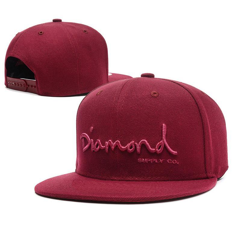 36fe3652540d0 Snapback Hats for Men Diamond Letter Sport Embroidery Bone Hip Hop ...