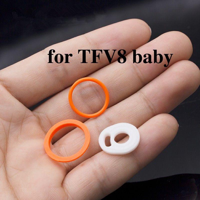 Silikon O halka Silikon Mühür O-ringler değiştirme Orv Set TFV8 TFV8 bebek v2.0 için Büyük X TF12 Prens Vape kalem 22 Tankı