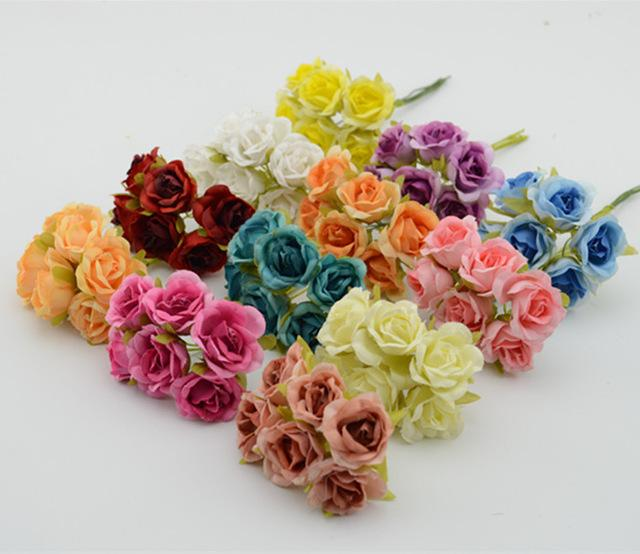 2018 wholesale bunch 10 bunch2cm artificial flower small rose silk 2018 wholesale bunch 10 bunch2cm artificial flower small rose silk flower garland handmade diy flower ball bouquet decorative material from sophine12 mightylinksfo Choice Image