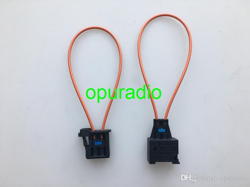 Female man MOST Optical Fiber Cable Loop Connector Diagnostic Device Tool Navigation Systems for VW Audi BMW Mercedes Benz car
