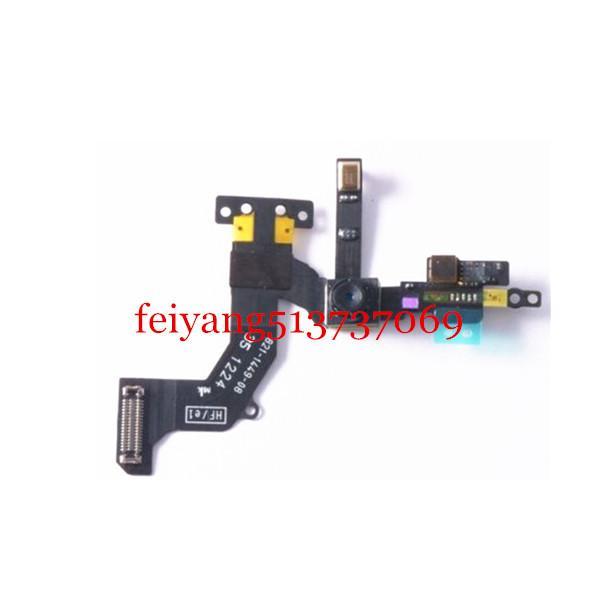 Caméra originale avant avec capteur Flex Câble pour iPhone 5 5G pièces de rechange téléphone portable ruban câble flex
