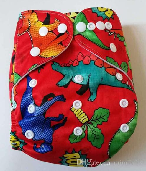 Best Quality cloth diaper reuseable Newest printed nappy cover For girl Or BOY+1 inserts Bserise