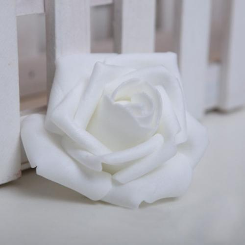 2019 Wholesale Boutique Foam Rose Flower Bud Wedding Party Decorations  Artificial Flower Diy Craft White From Sophine12 236a6d0daf
