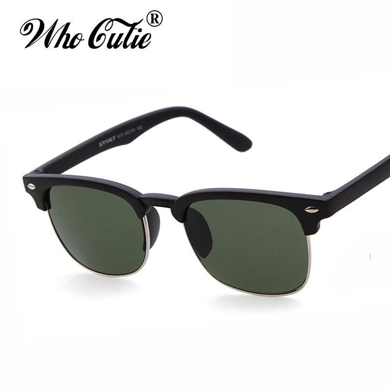 710a2b7a06 Brand Designer Club Master Rays Sunglass 2017 Vintage Retro Classic Eyewear  Men Women Semi Rimless Sunglasses Eyewear Superstar Sun Glasses  Prescription ...