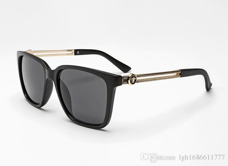 Brand Designer Sunglasses Men Women Retro Vintage Sun glasses Big Frame Fashion VE4307 Glasses Top Quality Eyeglasses UV400