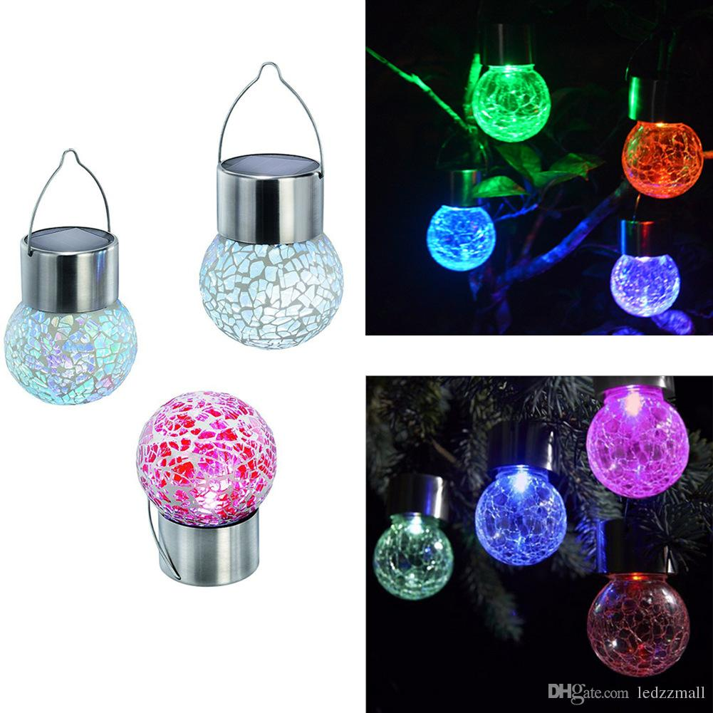 2018 solar battery operated led ball light colour chaning led 2018 solar battery operated led ball light colour chaning led crackle glass hanging lights outdoor for yard garden holiday decoration from ledzzmall aloadofball Images