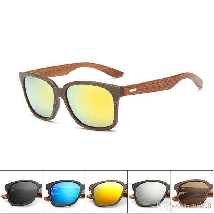1695b8da4f New Arrival Wooden Glasses Legs Men Women Fashion Retro Sunglasses ...
