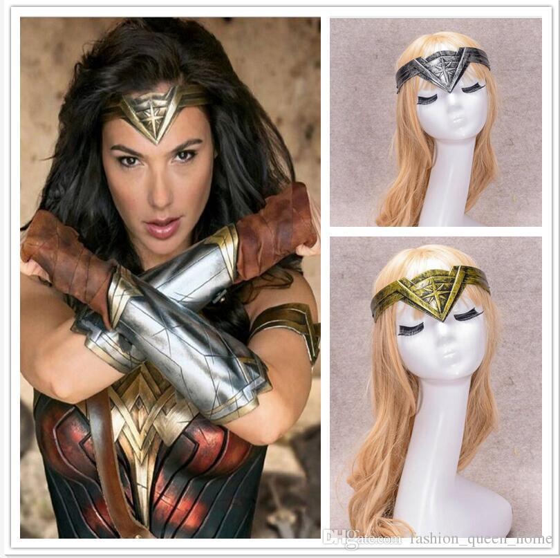 Fashionable Design Wonder Woman Headband Cosplay Headwear Headband