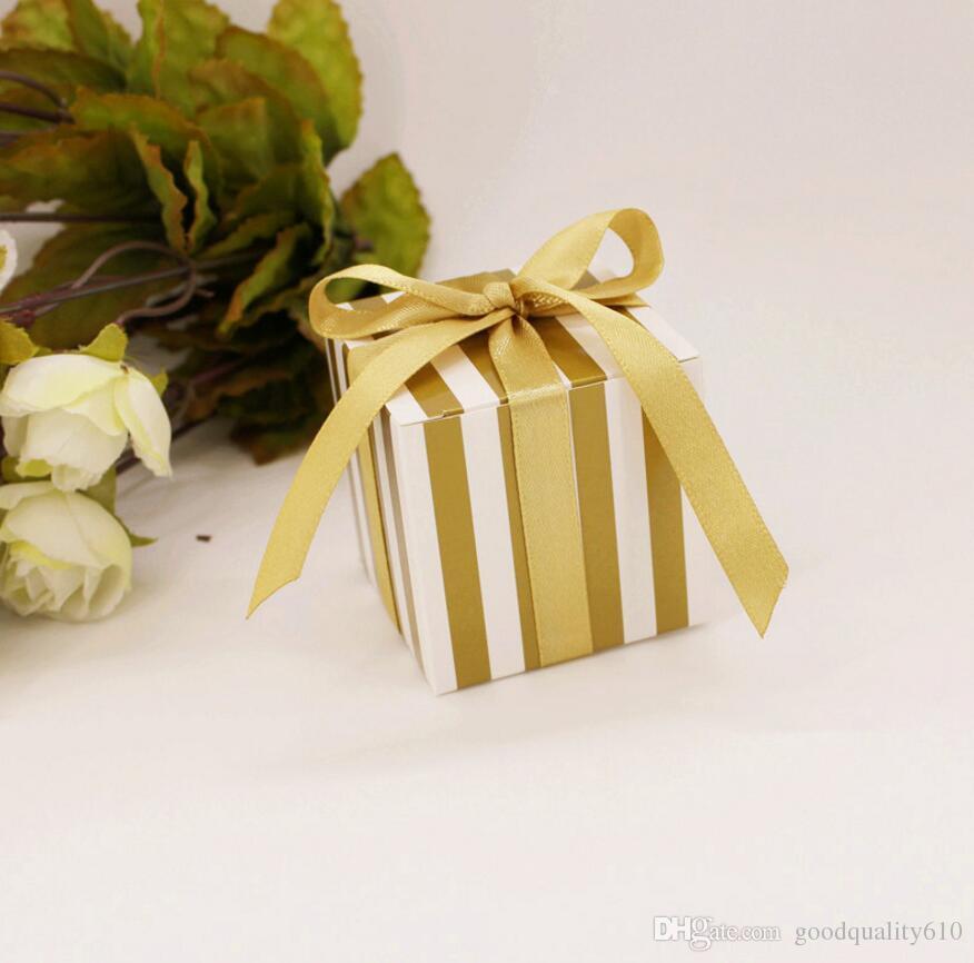 Scatole del cioccolato della banda di Candy della banda del cartone il regalo di favore della doccia di nozze della festa nuziale