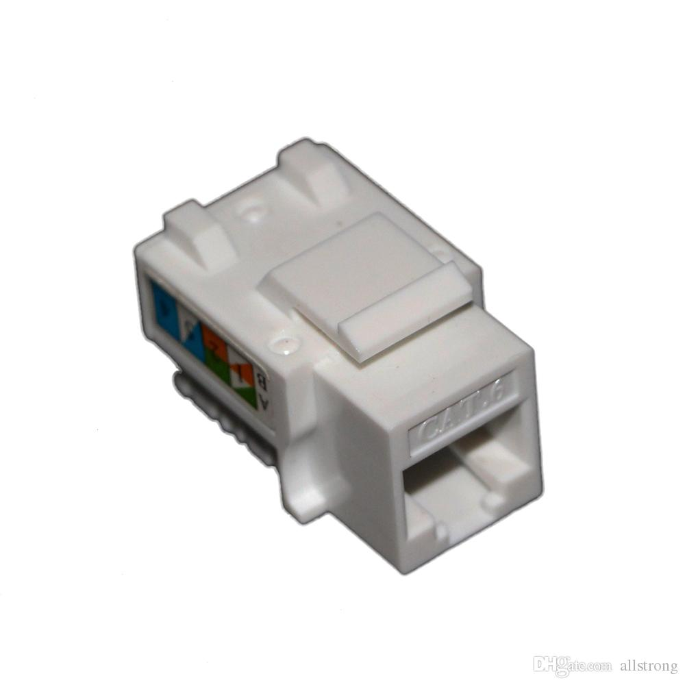 Utp Cat 6 Keystone Jack For Network Cable 250 Mhz 1g Bps 5 Wiring Diagram Wall Prise Fluke Passed Online With 4391 Piece On Allstrongs Store