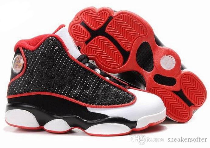 13 Kids shoes Children J13s Basketball shoes High Quality Sports Shoes Youth Sneakers For Sale Size: US11C-3Y EU28-35