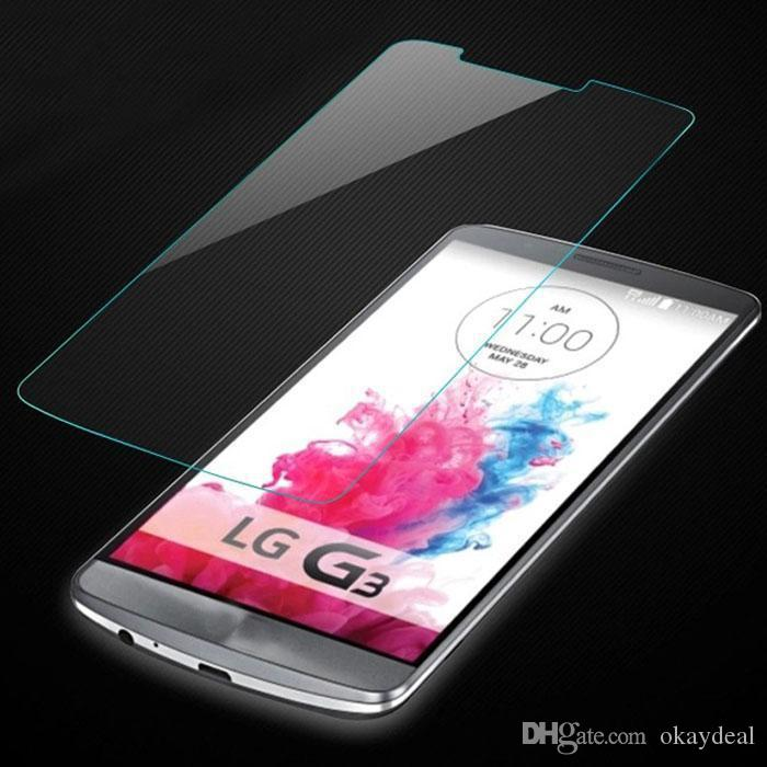 UltraThin Real Premium Tempered Glass Film Screen Protector For LG L65/L70/L90/G Pro 2/G Flex 1/G Flex 2/G2/G2 mini/G3/G3mini/G4