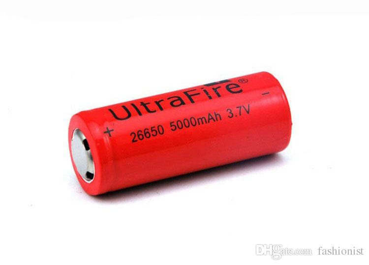 Ultrafire 26650 5000mAh 7200mAh Rechargeable Lithium Li-ion Battery for Electronic LED Camera torch battery Flashlight for Electronic Bike