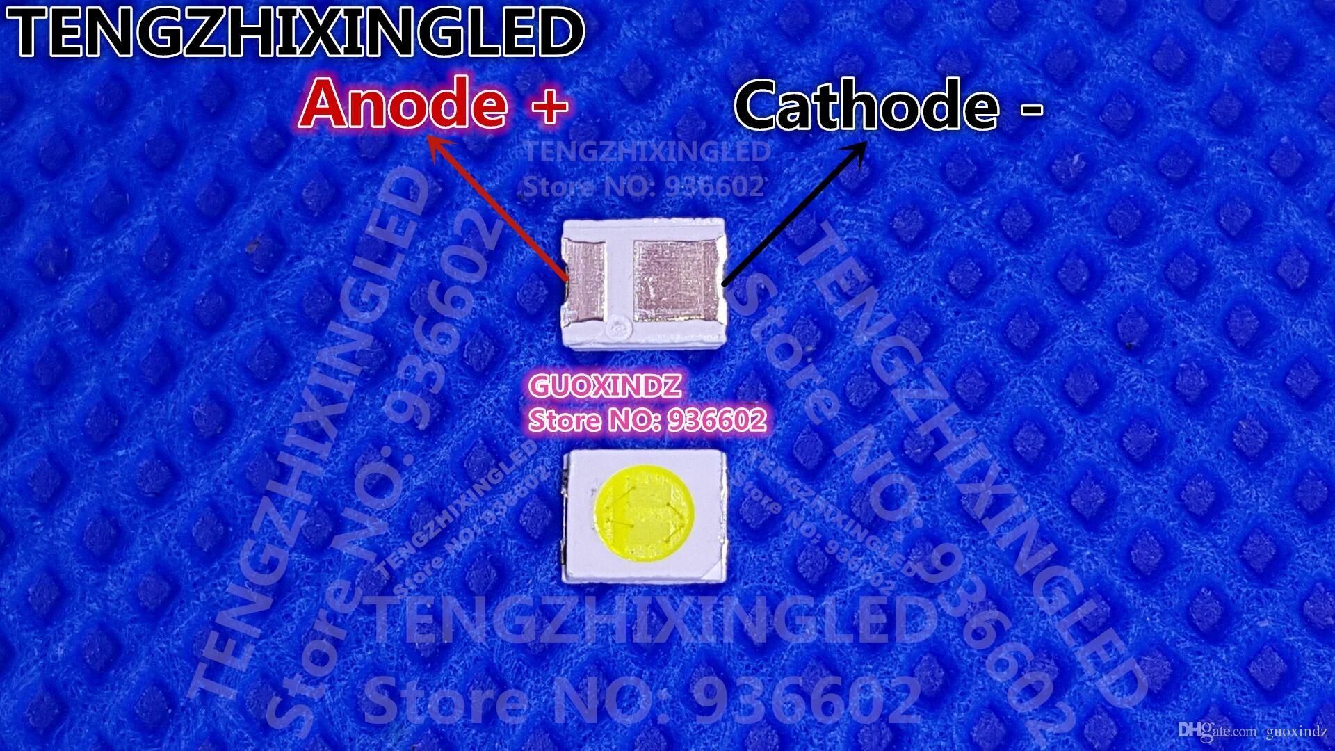 HONGLI TRONIC DOUBLE CHIPS LED Backlight 1210 3528 2835 1W 3V 100LM Cool White LCD Backlight for TV HL A 3528D49W 2 S1 08 PCT RM LED Backlight 3528