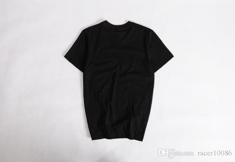 Verão Novo Mens Tshirts Tops Tees 100% Algodão O Pescoço de Manga Curta T Shirt Mulheres Homens Moda y 3 Tendências Sportwear y3 Tshirt