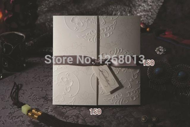 Wholesale Wishmade Wedding Invitation Cards W1108 Set Of 32 Free