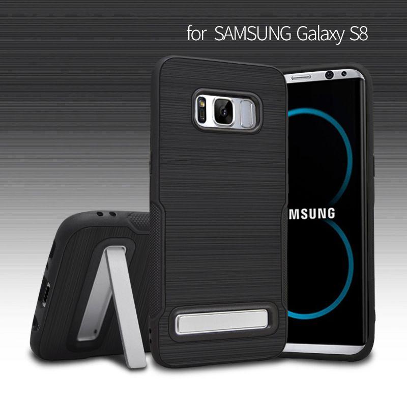 Hohe Qualität Telefon Fall für Samsung Galaxy S8 S8 Plus Zeichnung Rüstung Fall TPU weiche Rückseite für Galaxy S8 Plus G950F G955F