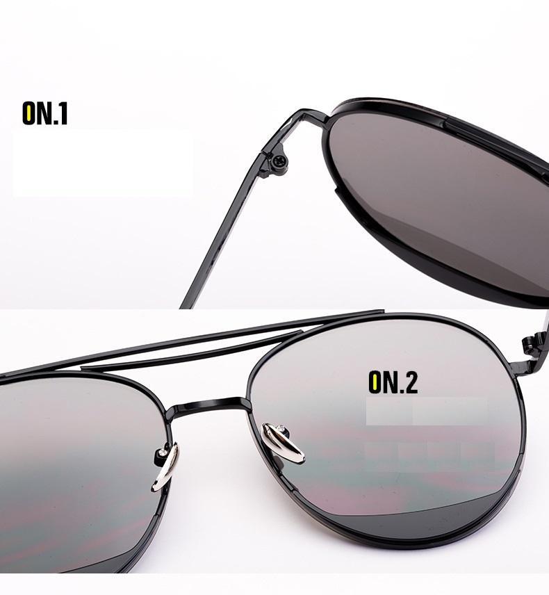 Parent-child model frame ocean children sunglasses Ms male Korea tears sunglasses fashion decoration